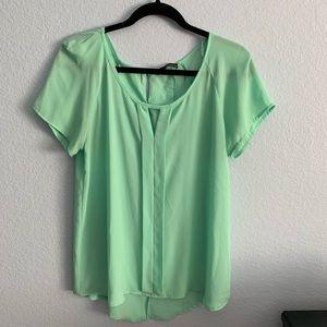 Ro + De mint blouse Size S